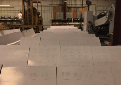 Calendars on the Saddle Stitcher
