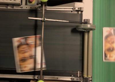Conveyor on Perfect Binder